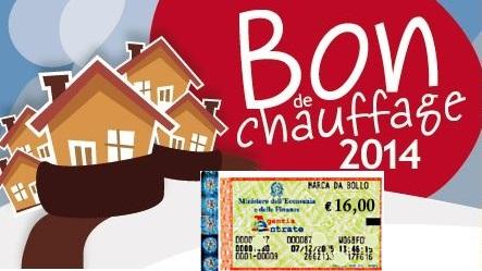 serve la marca da bollo per il Bon de Chauffage Aosta