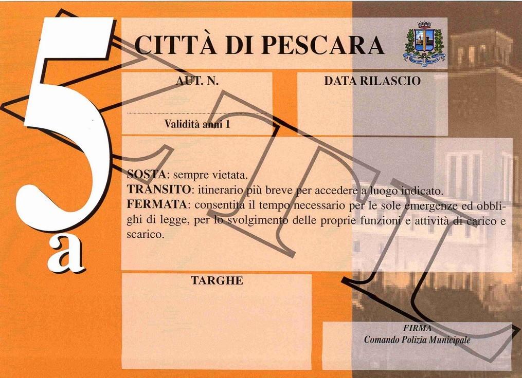 ZTL senza bollo a Pescara