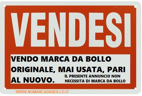 VENDESI MARCA DA BOLLO