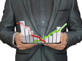 il trading e l'altalena dei prezzi